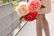 LOVELY DIY FLOWERS / CÓMO HACER FLORES IDEAS