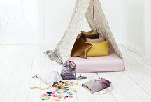 TENT TEEPEES &PLAYHOUSES / TIENDAS INDIAS / Ideas y DIYs para hacer tiendas de indio infantiles