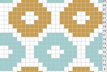 JACQUARD / TAPESTRY CROCHET&KNITTER CHART