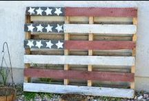 """Pallet Throwdown! / Here are some ideas for re-purposing pallets to compete in our annual """"Pallet Throwdown!""""  Details about the contest at www.infoway.org"""