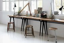 dream workspaces / Space to create and feel inspired. Studio, workshop, nest. A place to let ideas grow. / by Julia Wright