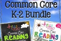 Common Core K-5 / by Hello Literacy