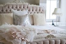 Sweetest Dreams / Bedrooms for every mood and season. My favorite room! / by Christine Clark Zook