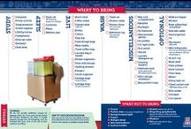 Things to Bring / Suggestions on things to bring to the residence halls at the University of Arizona.
