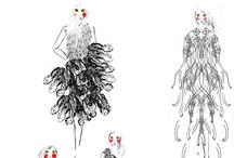Some Fashion Illustrations of mine