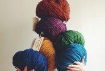Yarn, Crocheting & Kniting / by Denise Archambault-Hantsch