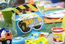 Construction Pals Party / Build friendships in party hard hats with our Construction Pals theme. / by Birthday Express