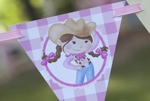 Pink Cowgirl Party Ideas / Kick up your heels and party with our delightful Pink Cowgirl theme.  / by Birthday Express