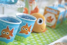 Goldfish Birthday Party Ideas / Make a birthday splash by swimming on over to catch our Goldfish party theme!