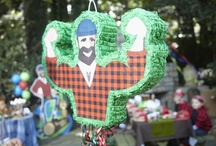 "Lumber Jack Party Ideas / ""Wood"" you like to have a great party? Begin by choosing our LumberJack theme."