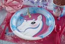 Unicorn Theme Party Ideas / Enchanted Unicorn Party Supplies / by Birthday Express