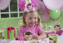 Pink Mod Monkey Party Ideas / Oo-oo-ee-ee! Pink Mod Monkey is the perfect theme for your silly little monkey!