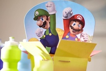 Super Mario Party Ideas / It's game on for your little gamer and his friends with our Super Mario Bros. theme!