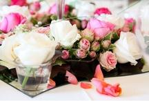 Tischdeko | Centerpieces / Tischdekoration Hochzeit | Blumenschmuck Hochzeit
