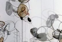 Wire / Handmade structures, beautiful lines, shapes, forms, objects made from wire. Selected for fine craftsmanship, attention to detail and clever joining techniques.  / by Julia Wright