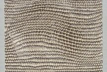 Weave / Warp and weft, exploring surface and form, both 2D and 3D, traditional and experimental. / by Julia Wright