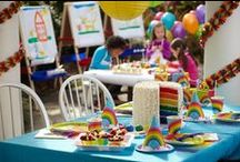 Rainbow Wishes Party Ideas