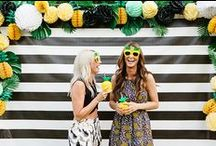 Backdrop & Photo booth Ideas / by Magen Younger