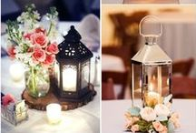 Wedding Decor Ideas / Adding little special touch to your wedding can make all the difference.