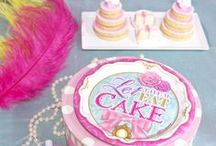 Let Them Eat Cake / A fancy, fashionable, prim and proper theme to bring a little bit of luxury to the party. Let Them Eat Cake on BirthdayExpress.com! View the entire collection here: http://www.birthdayexpress.com/Let-Them-Eat-Cake-Party-Packs/89315/PartyPack.aspx / by Birthday Express