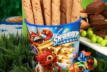 Skylanders Party Ideas / Fire up the Portal of Power with Skylanders birthday party supplies from BirthdayExpress.com! #skylanders #birthdayexpress