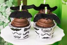 Mustache Man Party Theme Ideas / We #mustache you question: want to celebrate your little one's next special day with a cute and funny Mustache Man theme? #birthdayexpress / by Birthday Express