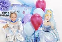 Cinderella Birthday Party Ideas / Turn your Disney Cinderella themed birthday party into a fairytale ball with these magical ideas, supplies and decorations.  / by Birthday Express
