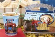 Farm Tractor Birthday Party Ideas / If your little one loves the barnyard, if it's impossible to pull him or her away from the petting zoo, if he or she would rather be at the farm than anywhere else, then this year, throw your little one a Farm Tractor Party with a brand new birthday theme, exclusively at BirthdayExpress! We have the party supplies, suggestions for fun party activities as well as tips and trick to help you throw a Farm Tractor Party inspired by John Deere®  for your child's special day.