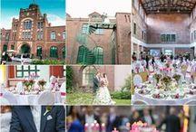 Industrie Hochzeit | Industrial Wedding Inspiration / Heiraten | Hochzeitsfotografie | Shootings | im Landschaftspark | in der Zeche | in der Destille | Industrieller Charme trifft Vintage Look