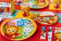 Daniel Tiger's Neighborhood Party Ideas / Take a journey to the Neighborhood of Make Believe to celebrate your child's special day with Daniel Tiger, Katerina Kittycat, Miss Elaina and all their friends. Your little one will love spending their birthday with the children of Mister Rogers Neighborhood and you'll love the adorable animal party supplies that fit this theme. From dinner plates to personalized banners and everything in between, we have all the party essentials for your Daniel Tiger party here.