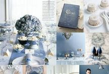 Hochzeit in blau l blue wedding / Inspirationen für eine Hochzeit in blau | inspiations for a blue wedding |   Kornblume, Cornflower,