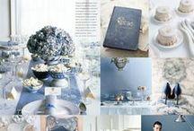 Hochzeit in blau l blue wedding / Inspirationen für eine Hochzeit in blau   inspiations for a blue wedding     Kornblume, Cornflower,