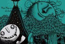 MOJA MOJA Drawing - Kentaro Hisa illustration / Kentaro Hisa - Illustrator - Fukushima, Japan