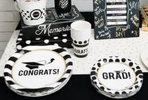 Graduation Party Ideas / Classes may be over, but you can still keep it classy! Our graduation party supplies will take the celebration to an elevated level of sophistication.