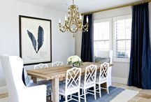 Dining Room Inspiration / Decorating inspiration and ideas for your dining room  / by Luci Terhune/NJHomeStager