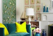 For the Home / My style: Neutral yet quirky with pops of colour.
