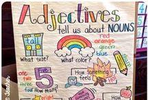 [school] literacy. / by Emily Nolan