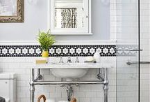 Bathroom Inspiration / by Luci Terhune/NJHomeStager