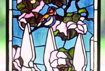 STAINED GLASS BEAUTY / by Teresa Langston