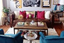 living/family rooms i ♥ / by Erin Pearce