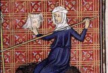 illumination / illuminated manuscript, medieval art, illumination, middle ages / by Anna Balala