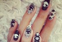 Bad Ass Nails ❤  / by Blanche Macdonald