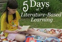 Literature-Based Learning / Whether you homeschool or not, literature-based is learning is extremely effective... and fun! We've been homeschooling with literature for close to 16 years now and wouldn't have it any other way!