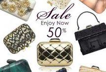 KOTUR - Winter Sale - 50% Off / January 2014. SALE. 50% off on selected items. #KOTUR #Clutch #Minaudiere #Handbag #Sale #Winter #Fashion
