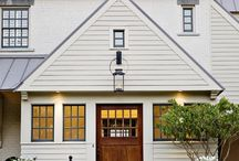 Home Exteriors / Exterior ideas for the home / by Luci Terhune/NJHomeStager