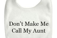For the Beanlet / I'm going to be an Aunt and I can't handle the excitement without an outlet! / by Audrey Johnson