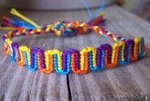 Friendship Bracelet Patterns / by Erin Gordon