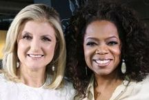 Thrive with Arianna Huffington, a Six-Week Online Course / Renovate Your Life! Oprah.com and Arianna Huffington are pinning their favorite pins to guide you along with Arianna's online course, Thrive.  #ThriveOCourse / by Oprah