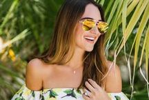 §   Summer Beach Prints § /  Summer Beach Trends that any girl or lady would want to wear on a sunny day!  / by Heidi Vizuete