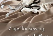 Garment Construction / Tips for garment construction, different projects, and more!